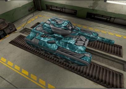 На этой картинке танк окрашен в специальное покрытие «Прибой»
