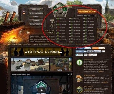 Танки онлайн тестовый сервер танки