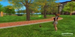 Прогулка с питомцем
