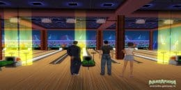 Жители Аватарики в боулинг-клубе