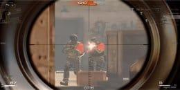 Вид через снайперский прицел