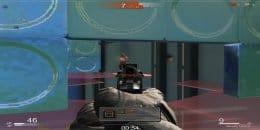 Скриншот стрельбы из пистолеты