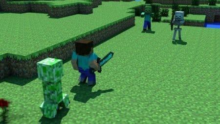 Картинка из игры Minecraft