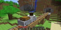 Железная дорого в Minecraft