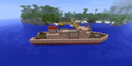 Тут можно построить даже собственный корабль
