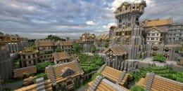 Все эти постройки делают из блоков