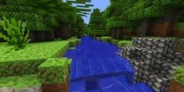 Воду для крафтинга можно брать в реках и ручьях