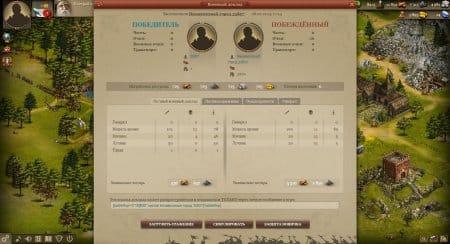 После битвы просматривайте военный доклад