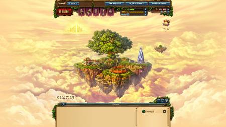 Мистический остров в игре «Небеса».