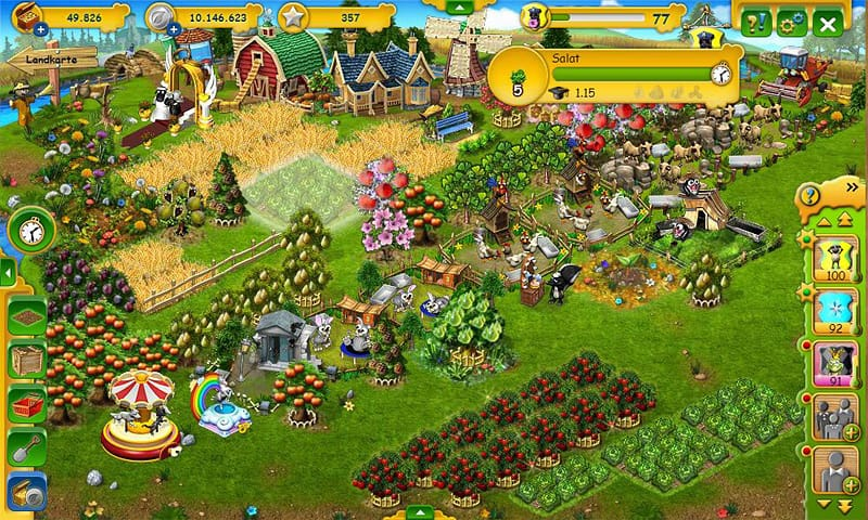 Farmerama kostenlos spielen browsergamesde