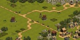 Мельницы. Доставка ресурсов игровыми юнитами.