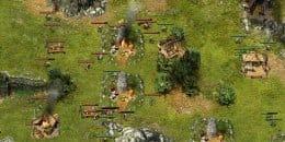 Массовый бой при захвате поселения.