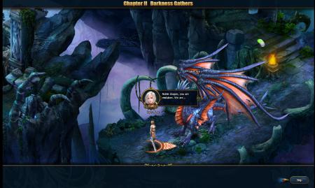 В подземелье огнедышащего дракона