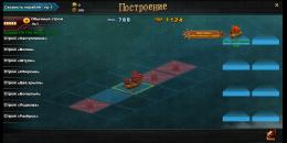 Построение кораблей перед боем