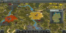 Карта и зона влияния