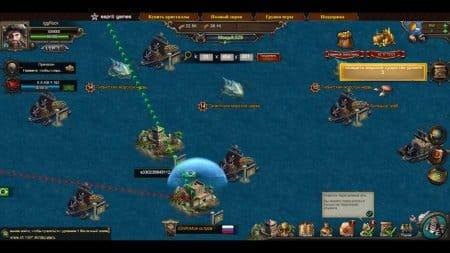 Карта островов для атак