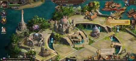 Развитие острова