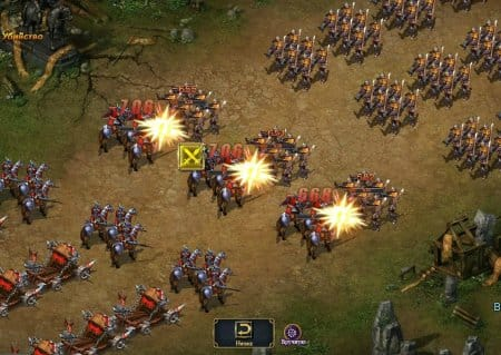 Битва в игре