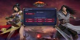 Выберите сервер в начле игры Властелины Стихий