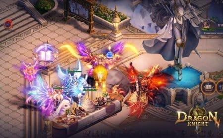 Главный игровой город Dragon Knight