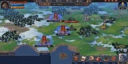Расположение соседних королевств других игроков на карте
