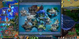 Карта игрового мира Шторм Онлайн
