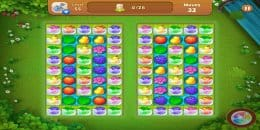 Скриншот Gardenscapes 8