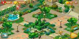 Скриншот Gardenscapes 1